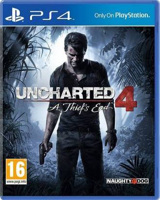 Uncharted 4 A Thief's End (for PS4)