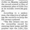 LDA One Window Cell Timings Lahore, Application Status