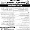 Punjab Workers Welfare Board Jobs 2017 NTS Recruitment Test Admission Form Online