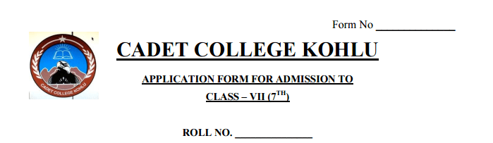 cadet-college-kohlu-sibbi-7th-class-admission-form-download-online