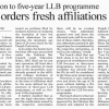 Five Year LLB Programme Admission In Lahore LHC Directed