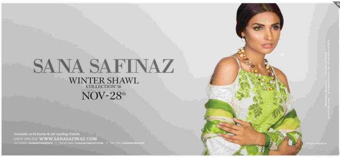 Sana Safinaz Winter Shawl Collection In 2017 Nice Selection