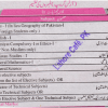 9th Class Arts Subjects List Paper Marks Division Punjab Boards