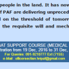 Join Pakistan Air Force After MBBS Through Combat Support Course