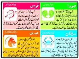Daily Horoscopes In Urdu 18 May 2017 Star Sign In Urdu Aaj Ka Din Kaisa Hai