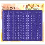 Karachi Ramadan Calendar 2017 Sehr Iftar Timings & Schedule Available Here