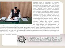 Balochistan Quetta Board Matric Result 2017 Search Online Hamara