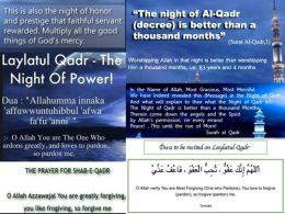 How To Say Shab E Qadr Prayer In English Shab Prayers