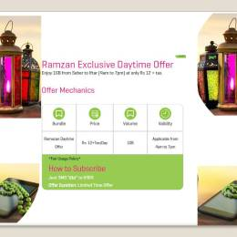 Zong Ramzan DayTime Internet Offer
