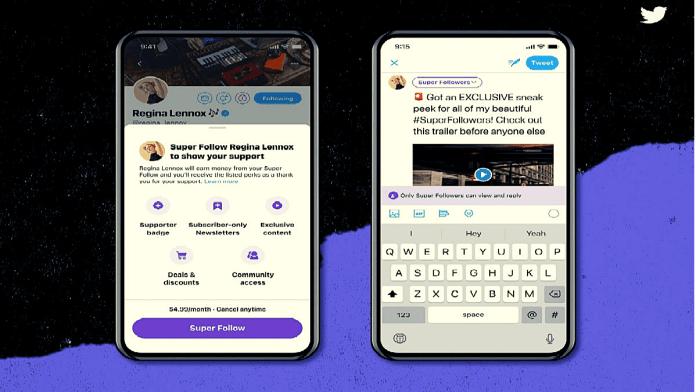 twitter announces paid super follows