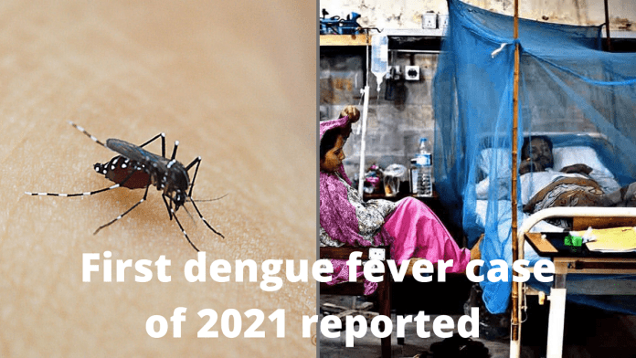 First dengue fever case of 2021 reported