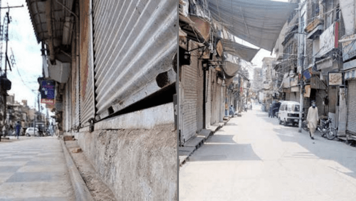 Smart lockdown in Peshawar