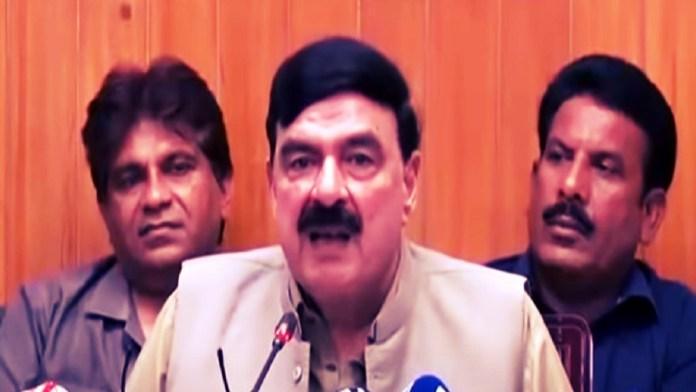Sheikh Rasheed press conference