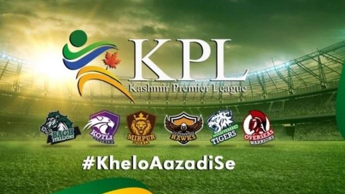 kpl - Kashmir Premier League