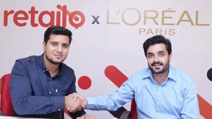 L'Oréal partnership with Retailo