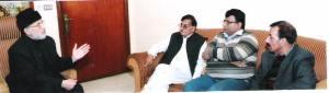 Taj Muhammad Langah met Dr. Tahirulqadri