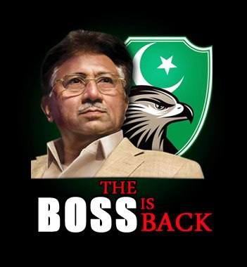 Sam Dada style to welcome MUsharraf