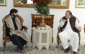 Yassen malik calls on Nawaz Sharif