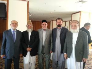 amir jip  Syed Munawar hasan meets ikhwan ul muslimun  murshid- e- aam dr Muhammad Badie in turkey