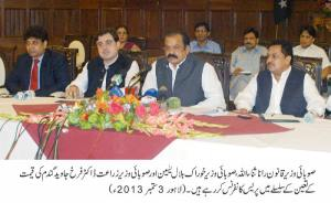 Ministers Press Confrence