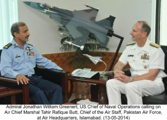 Admiral Jonathan William Greenert, US Chief of Naval Operations Call on ACP