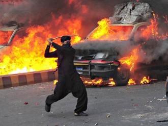 Riots in Karachi