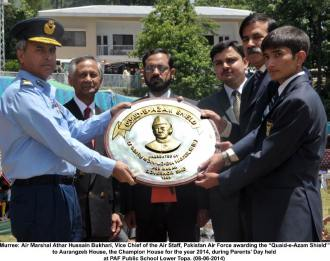 VCAS awarding Shield
