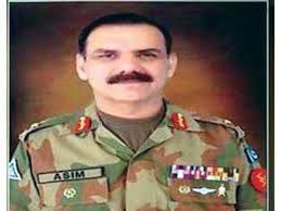 Major General Aasim Bajwa