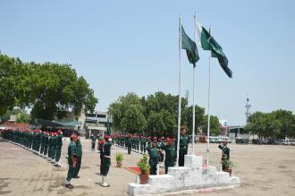 1-DG Rescue Punjab hoists national flag at Emergency Services Academy