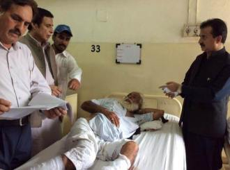 Injureds are being treated at PIMS
