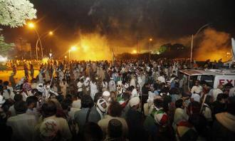 Islamabad clash3