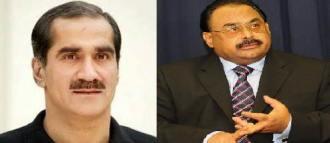 Khawaja Saad Rafique talked to Altaf Hussain