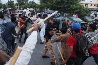 Lahore clash