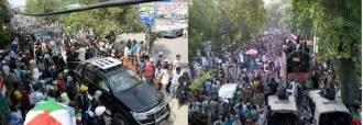 Revolution March and Azadi March a comparitive view