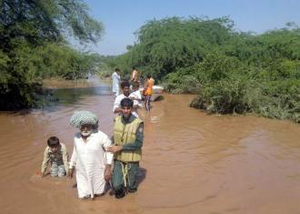 Over 78, 000 flood affectees have been rescued;Punjab Emergency Service handout