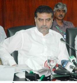 Minister Environment col Shuja Khanzada,Zaeem Qadri
