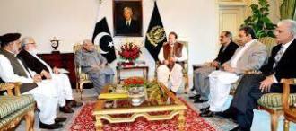 Liaqat Baloch met PM Nawaz Sharif