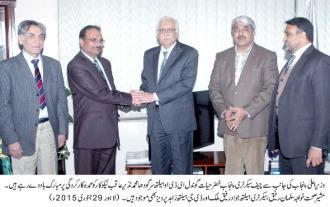 Chief Secretary Punjab lauds  EDO Health Sargodha Muhammad Nazir Aqib Nekokara for good performance