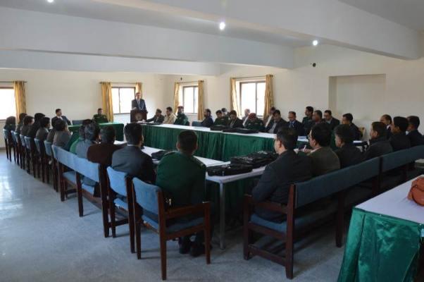 DG Rescue Punjab Dr. Rizwan Naseer addresses DEOs Conference