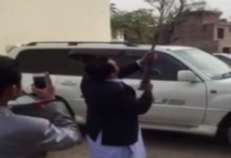 Firing on SHO's son wedding in Gujranwala