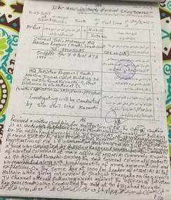 FIR against Altaf Hussain