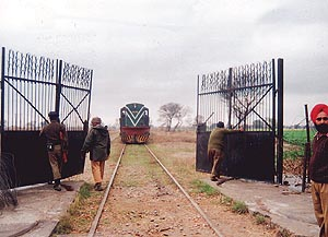 Samjhota Express entering into Indian territory