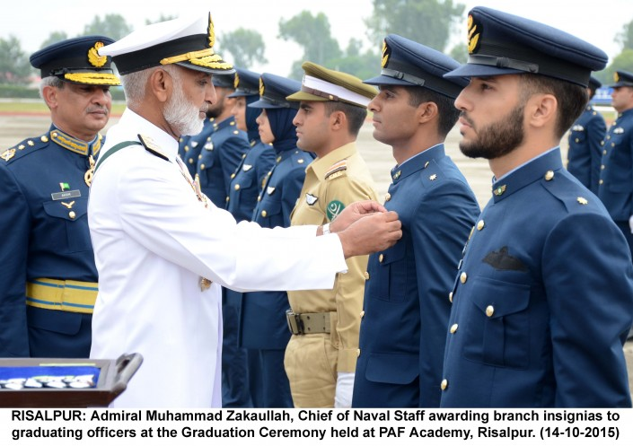 The Graduation Ceremony Held At Paf Academy Risalpur