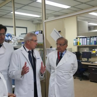 Shahbaz Sharif fired the whole staff of Drug Testing Laboratory
