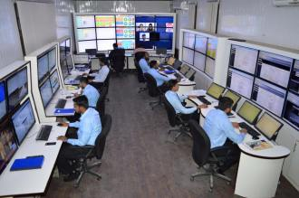 Police ops room in DIG Ops office1