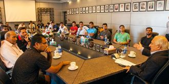 chairman pcb shaheryar khan meeting with pak team