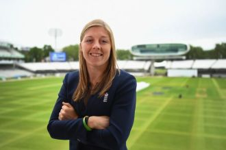 Newly-appointed England captain Heather Knight