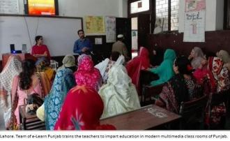 e-Learn program starts in 8 schools of Punjab