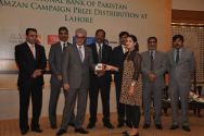 National Bank of Pakistan distributed prizes to its Remittance Customers