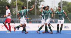 Naveed Alam and Rizwan Ali earn win for Pakistan